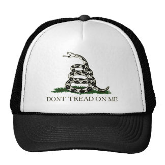 Don't Tread on Me, Gadsden flag tea party Trucker Hat
