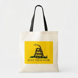 Don't Tread On Me - Gadsden Flag Tote Bag