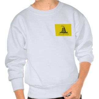Don't Tread On Me - Gadsden Flag Pull Over Sweatshirts