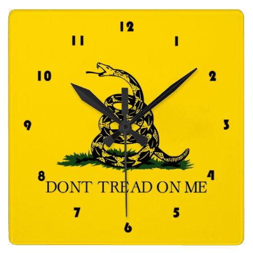 Don't Tread On Me - Gadsden Flag Wallclock