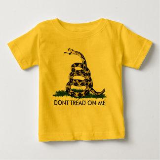 DONT TREAD ON ME, Gadsden Rattler, Will Bratton Baby T-Shirt