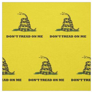 Don't Tread On Me Gadsden Yellow Flag Fabric