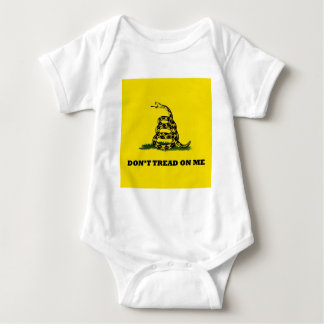 Don't Tread On Me gadston flag Baby Bodysuit