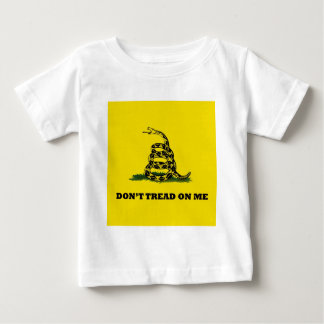 Don't Tread On Me gadston flag Baby T-Shirt