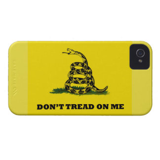 Don't Tread On Me gadston flag Case-Mate iPhone 4 Case