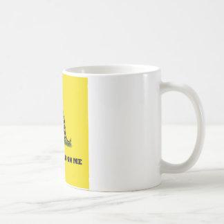 Don't Tread On Me gadston flag Classic White Coffee Mug