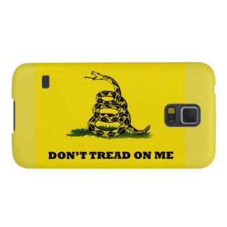 Don't Tread On Me gadston flag Galaxy S5 Cases