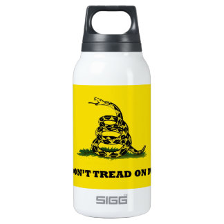 Don't Tread On Me gadston flag Insulated Water Bottle