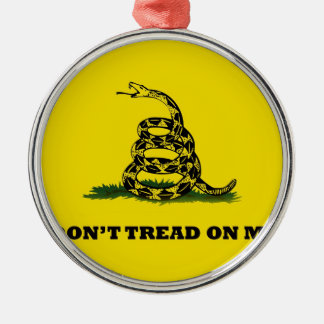 Don't Tread On Me gadston flag Metal Ornament