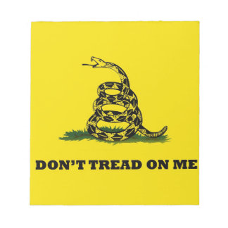 Don't Tread On Me gadston flag Notepad