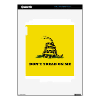 Don't Tread On Me gadston flag Skins For iPad 2