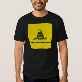 Don't Tread On Me gadston flag T Shirt