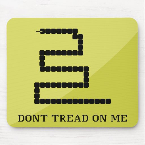 Dont Tread on Me - Gamer's Edition - Mousepad