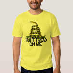 DONT TREAD ON ME GASDEN FLAG SHIRT