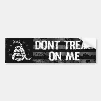 Dont Tread On Me II Bumper Sticker Car Bumper Sticker