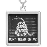 Dont Tread On Me II Necklace