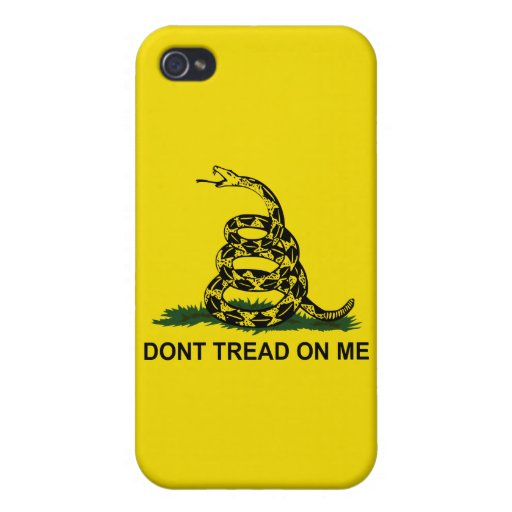 Don't Tread On Me iPhone 4/4S Covers