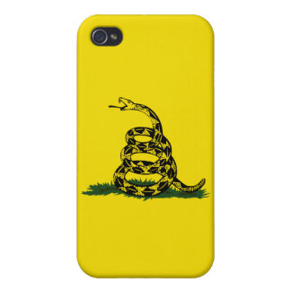 Don't Tread On Me iPhone 4 Cases
