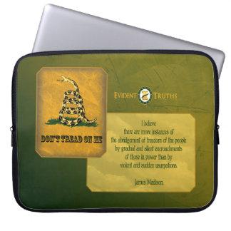 Don't Tread on Me - James Madison Laptop Sleeve