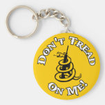 Don't Tread on Me! Key Chain