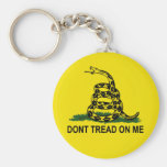 Dont Tread On Me Key Chain