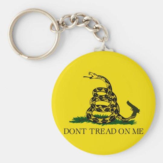 Don't tread on me! keychain