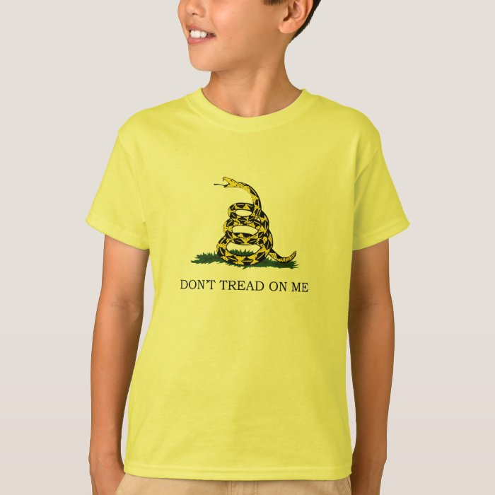 Don't Tread On Me Kids Shirt