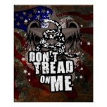 Don't Tread On Me Liberty Poster