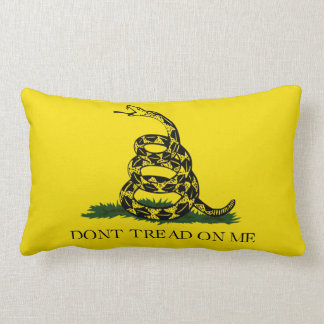 Dont Tread On Me Lumbar Pillow