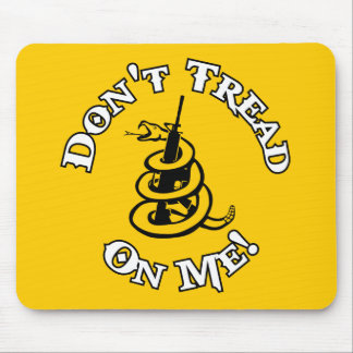 Don't Tread on Me! Mouse Pad