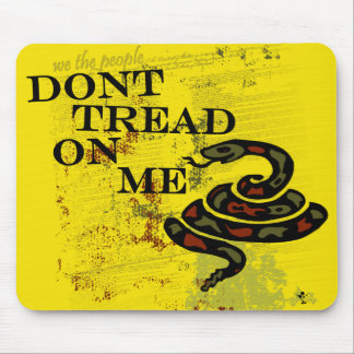 Dont Tread on Me Mouse Pads