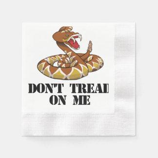 Don't tread on me napkin