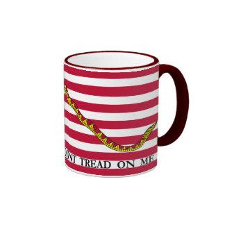 Don't Tread On Me - Navy Jack Flag Coffee Mugs
