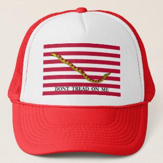 Don't Tread On Me - Navy Jack Flag Trucker Hat
