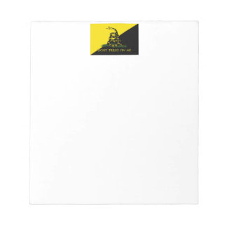 Don't Tread On Me Notepad