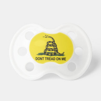 Don't Tread On Me! Pacifier