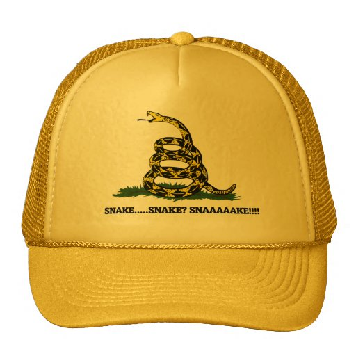Don't Tread on me Parody Trucker Hat
