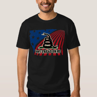 Don't Tread on Me Patriotic T Shirt