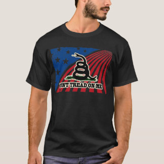 Don't Tread on Me Patriotic T-Shirt