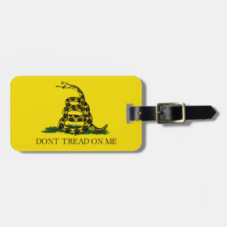 Don't Tread On Me Personalized Luggage Tag