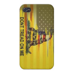 dont tread on me phone case iPhone 4/4S case