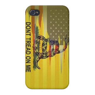 dont tread on me phone case iPhone 4 cases