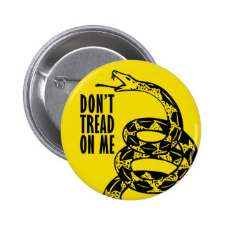 Don't Tread on Me Pinback Button