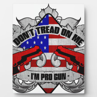 Don't Tread On Me Display Plaques