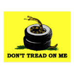 Dont Tread On Me Post Card