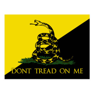 Don't Tread On Me Postcard