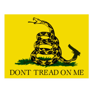 Don't tread on me! post cards
