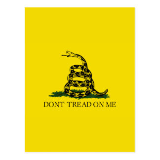 Don't Tread On Me Postcard