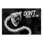 Don't! (Tread on Me) Posters