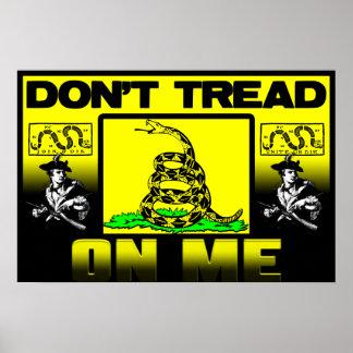 Don't Tread On Me! Print